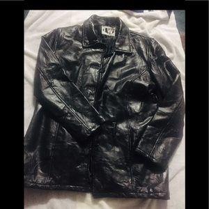 LW Black Leather Jacket
